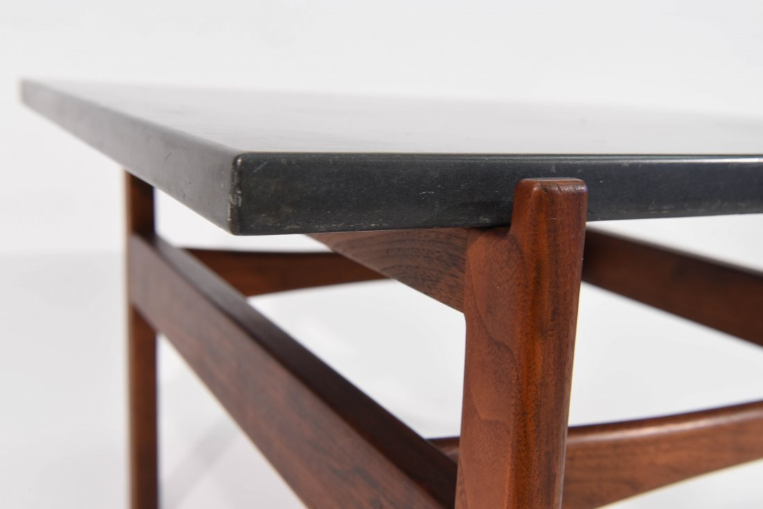 JENS RISOM SLATE TOP TABLE - 7