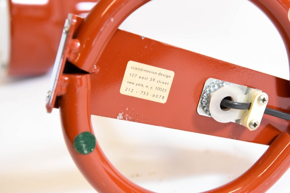 PAIR ANDERS PEHRSON BUMLING TABLE LAMPS - 10