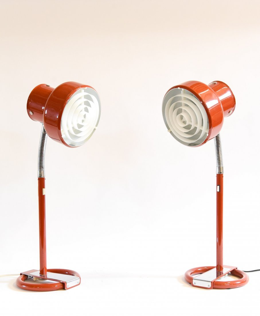 PAIR ANDERS PEHRSON BUMLING TABLE LAMPS