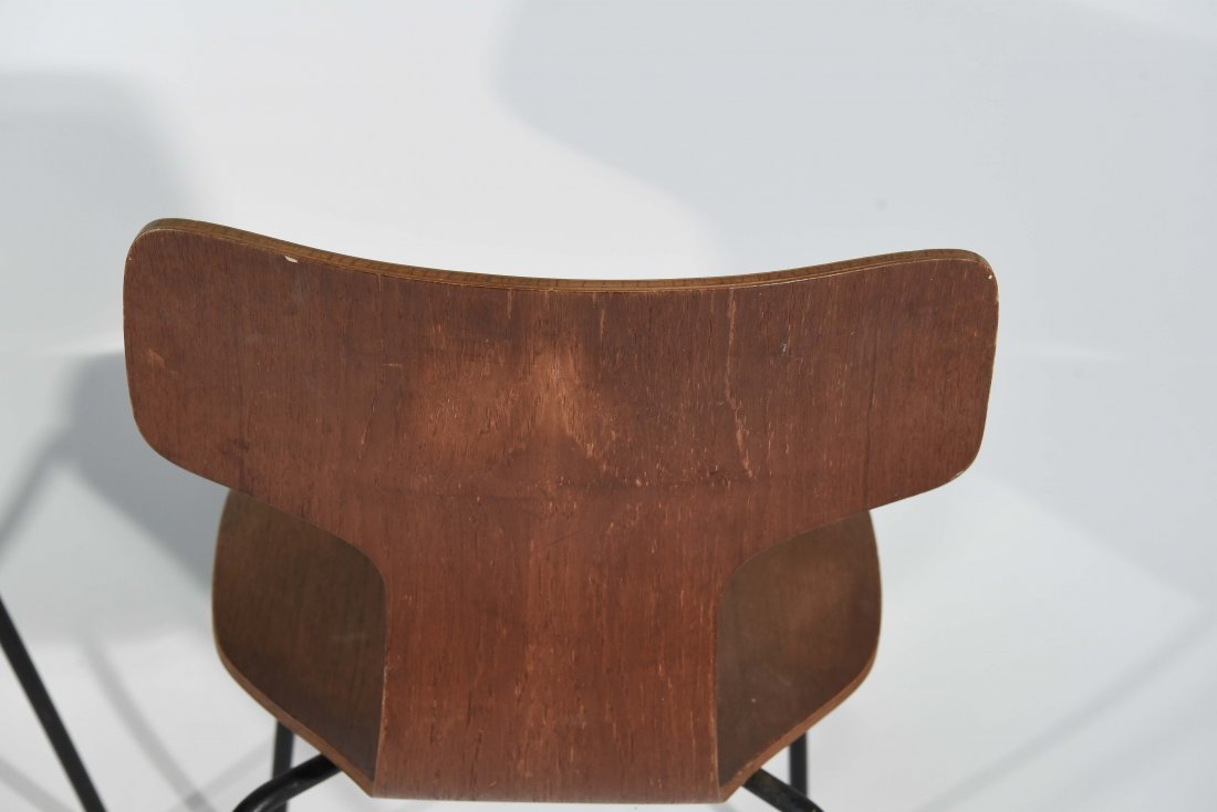 (3) T-BACK FRITZ HANSEN CHAIRS - 8