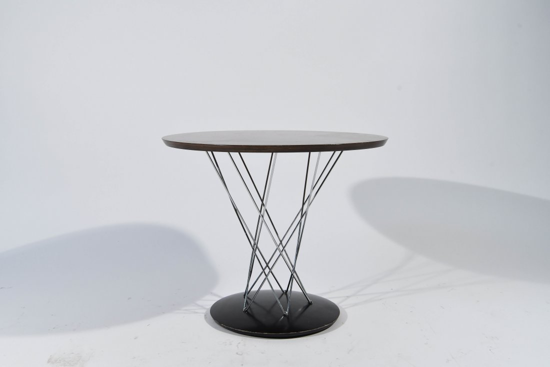 NOGUCHI; MODERNICA CYCLONE OCCASIONAL TABLE