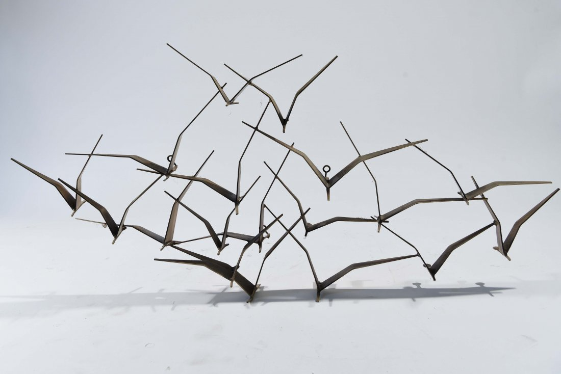 C. JERE BIRD WALL SCULPTURE