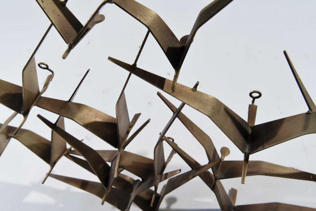 C. JERE BIRD WALL SCULPTURE - 6