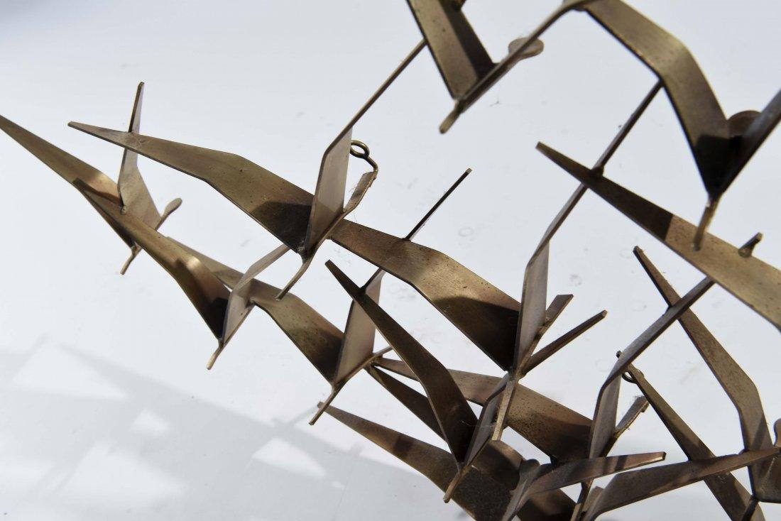 C. JERE BIRD WALL SCULPTURE - 7
