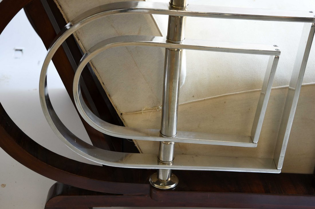 PAIR OF ART DECO STYLE CHAIRS - 8