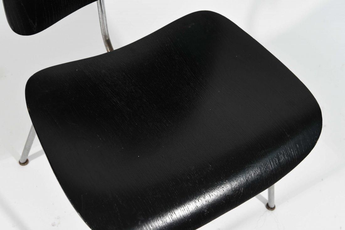 BLACK EAMES LCM CHAIR - 2