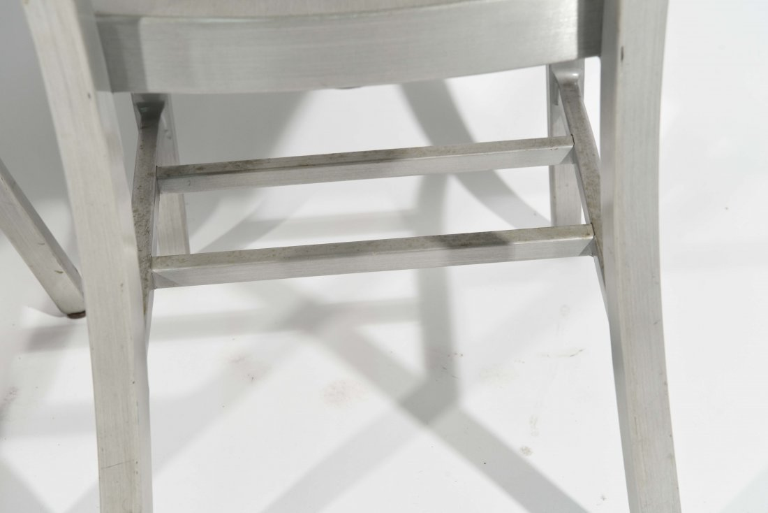 (12) ALUMINUM GOOD FORM CHAIRS - 10