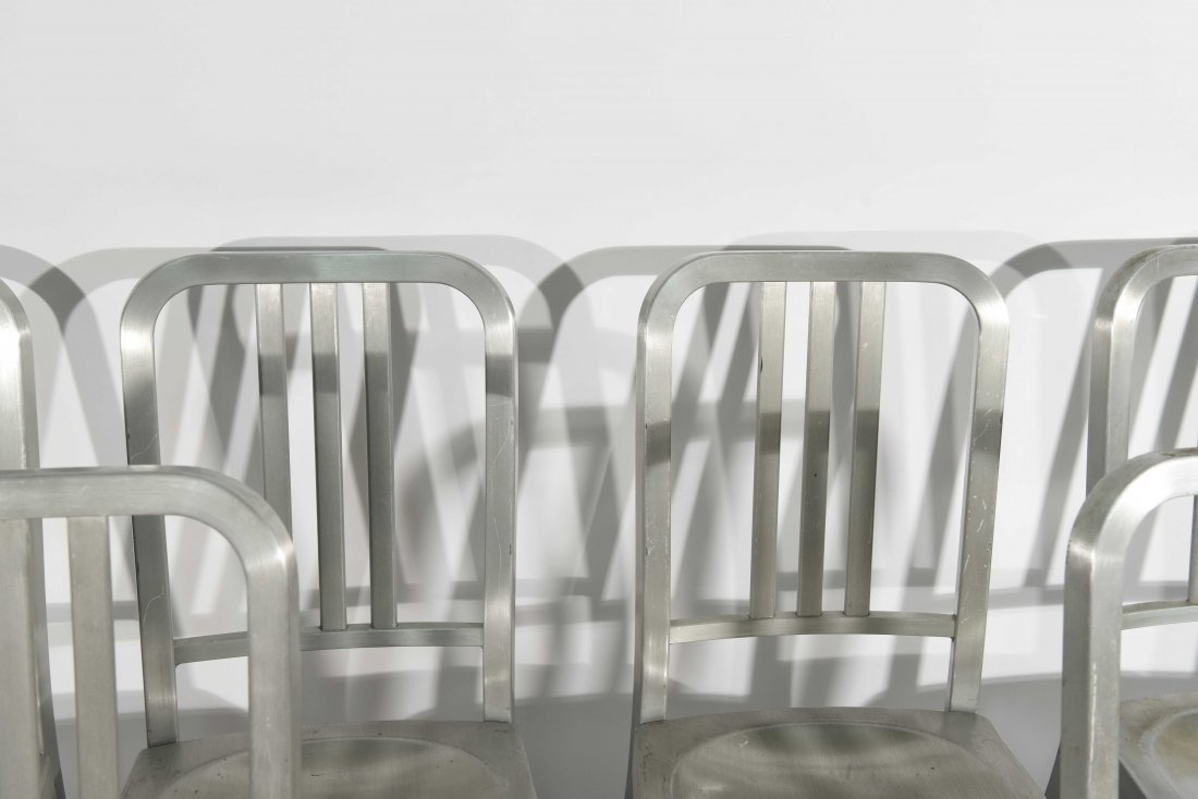 (12) ALUMINUM GOOD FORM CHAIRS - 3