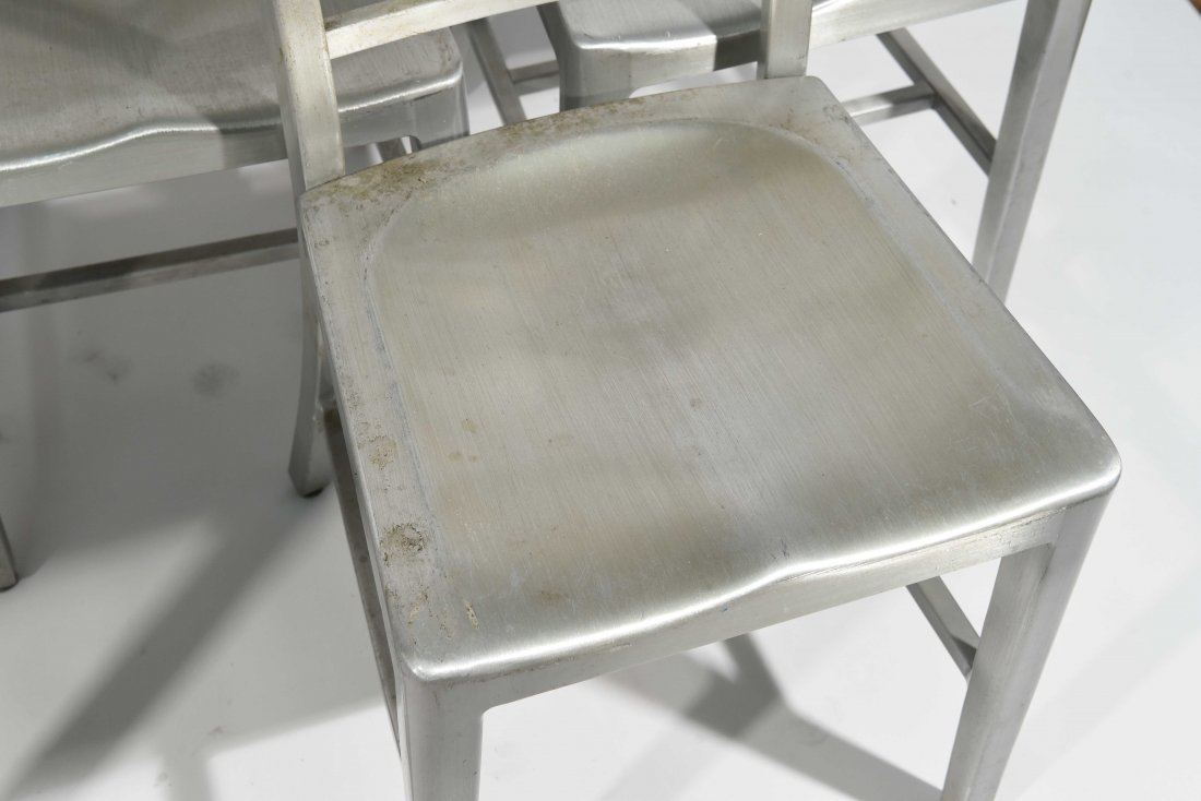 (12) ALUMINUM GOOD FORM CHAIRS - 4