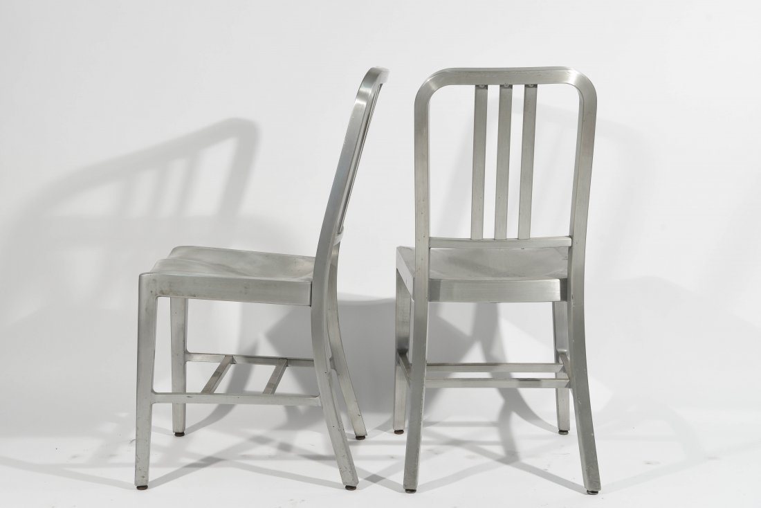(12) ALUMINUM GOOD FORM CHAIRS - 7