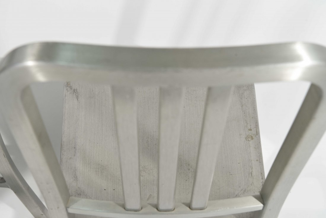 (12) ALUMINUM GOOD FORM CHAIRS - 8