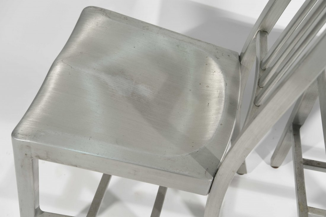 (12) ALUMINUM GOOD FORM CHAIRS - 9