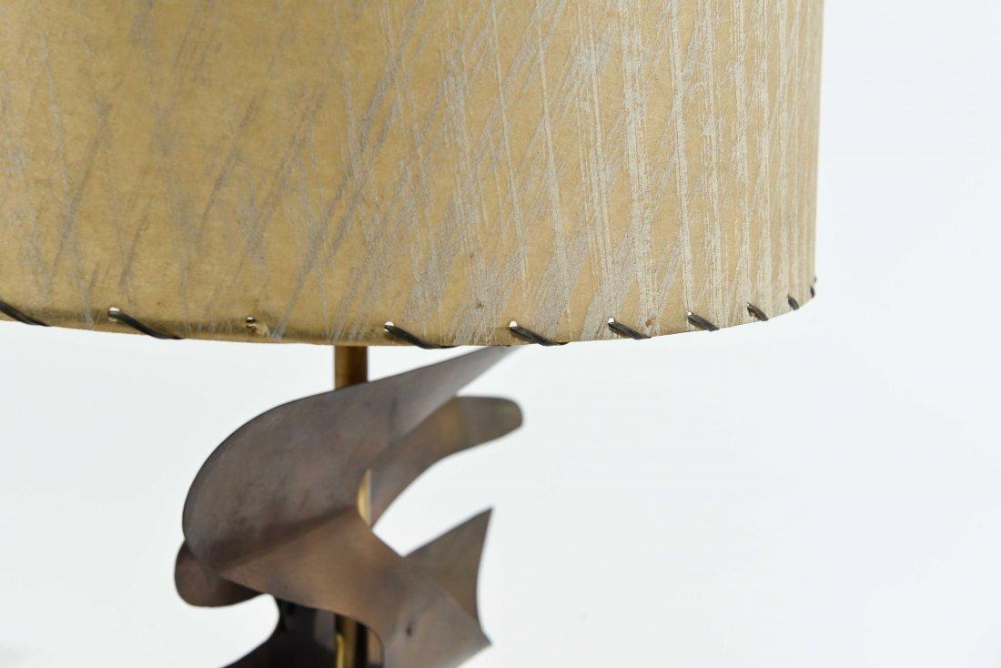 ATTR. HEIFETZ MIDCENTURY BIRD IN FLIGHT TABLE LAMP - 7