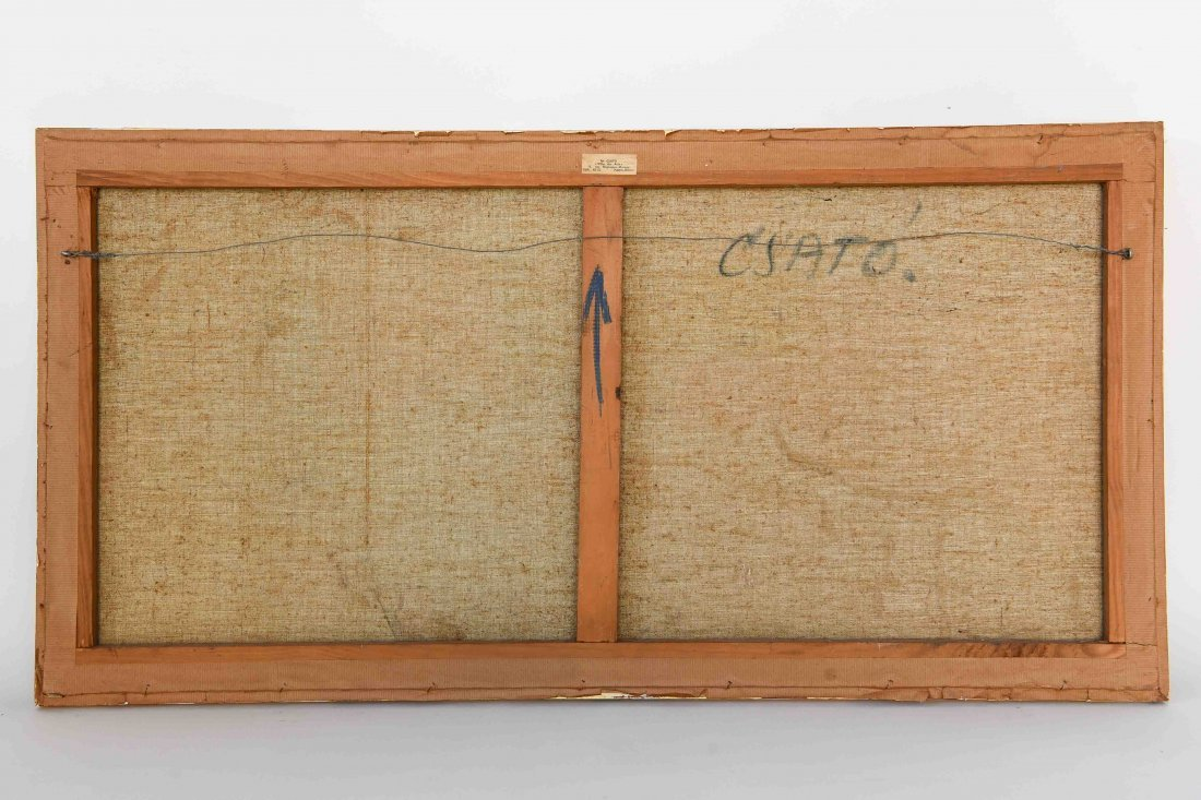 GEORGES CSATO (HUNGARIAN, 1910-1983), O/C - 9