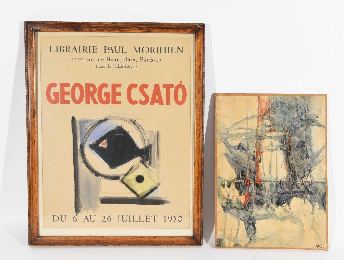 GEORGES CSATO (HUNGARIAN, 1910-1983), W/C