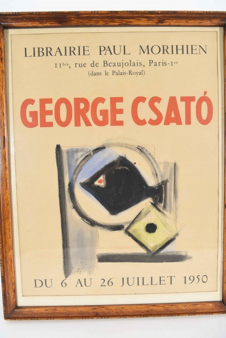 GEORGES CSATO (HUNGARIAN, 1910-1983), W/C - 2