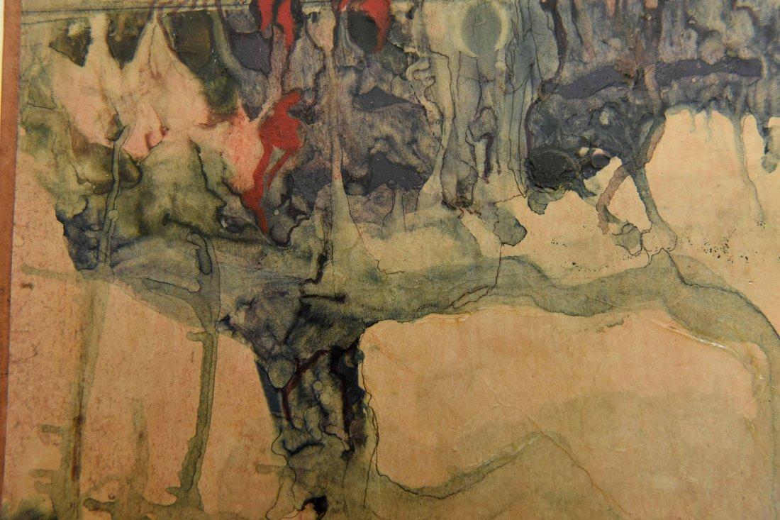 GEORGES CSATO (HUNGARIAN, 1910-1983), W/C - 4