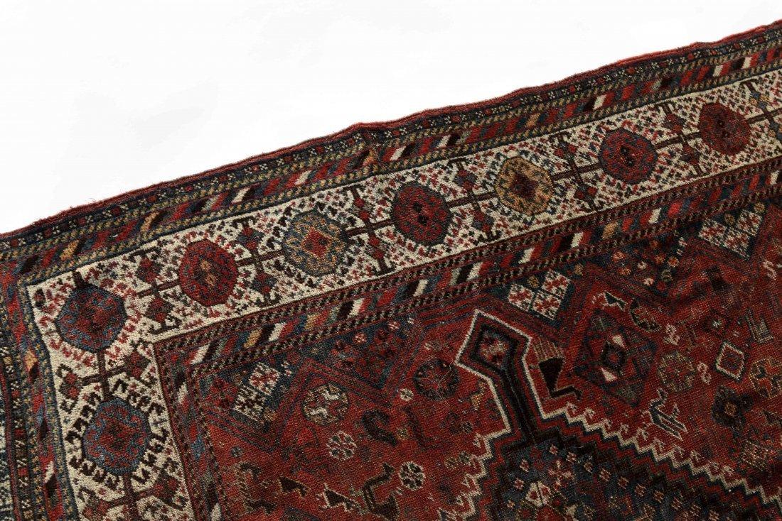 ANTIQUE PERSIAN TRIBAL CARPET - 2