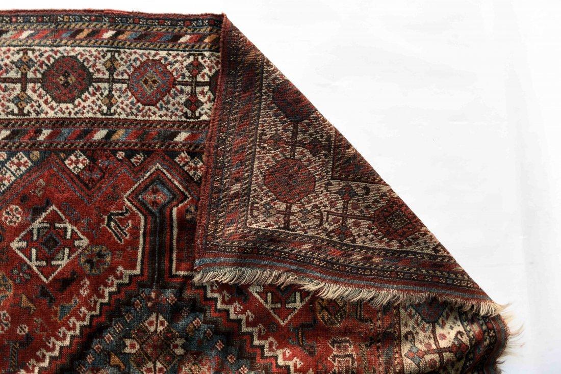 ANTIQUE PERSIAN TRIBAL CARPET - 6