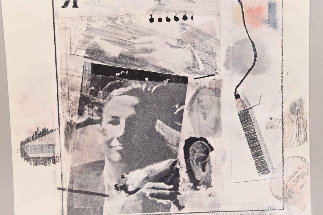 ROBERT RAUSCHENBERG 1965 GALLERY POSTER - 2
