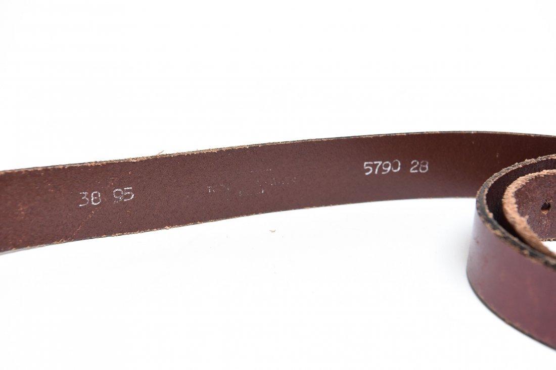 STERLING SILVER BELT BUCKLE - 4