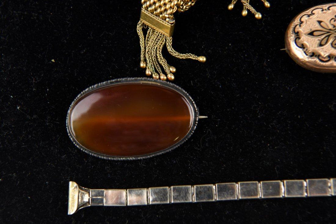 GROUP OF VICTORIAN GOLD FILLED JEWELRY ETC. - 2