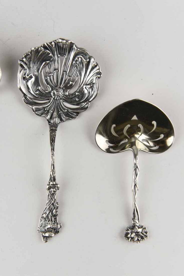 GROUPING OF STERLING SILVER SERVINGWARE - 2