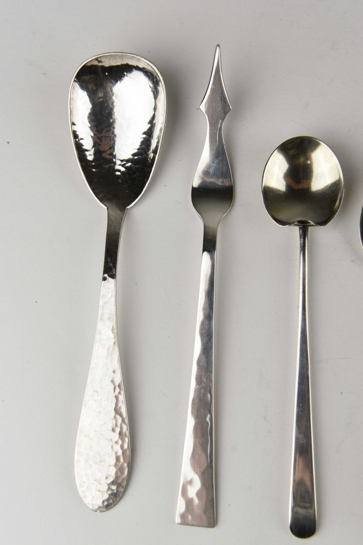 GROUPING OF STERLING SILVER SERVINGWARE - 5