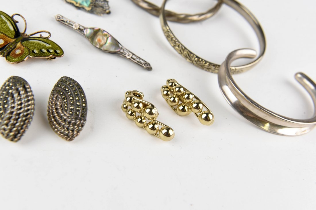 GROUPING OF STERLING JEWELRY ETC. - 3