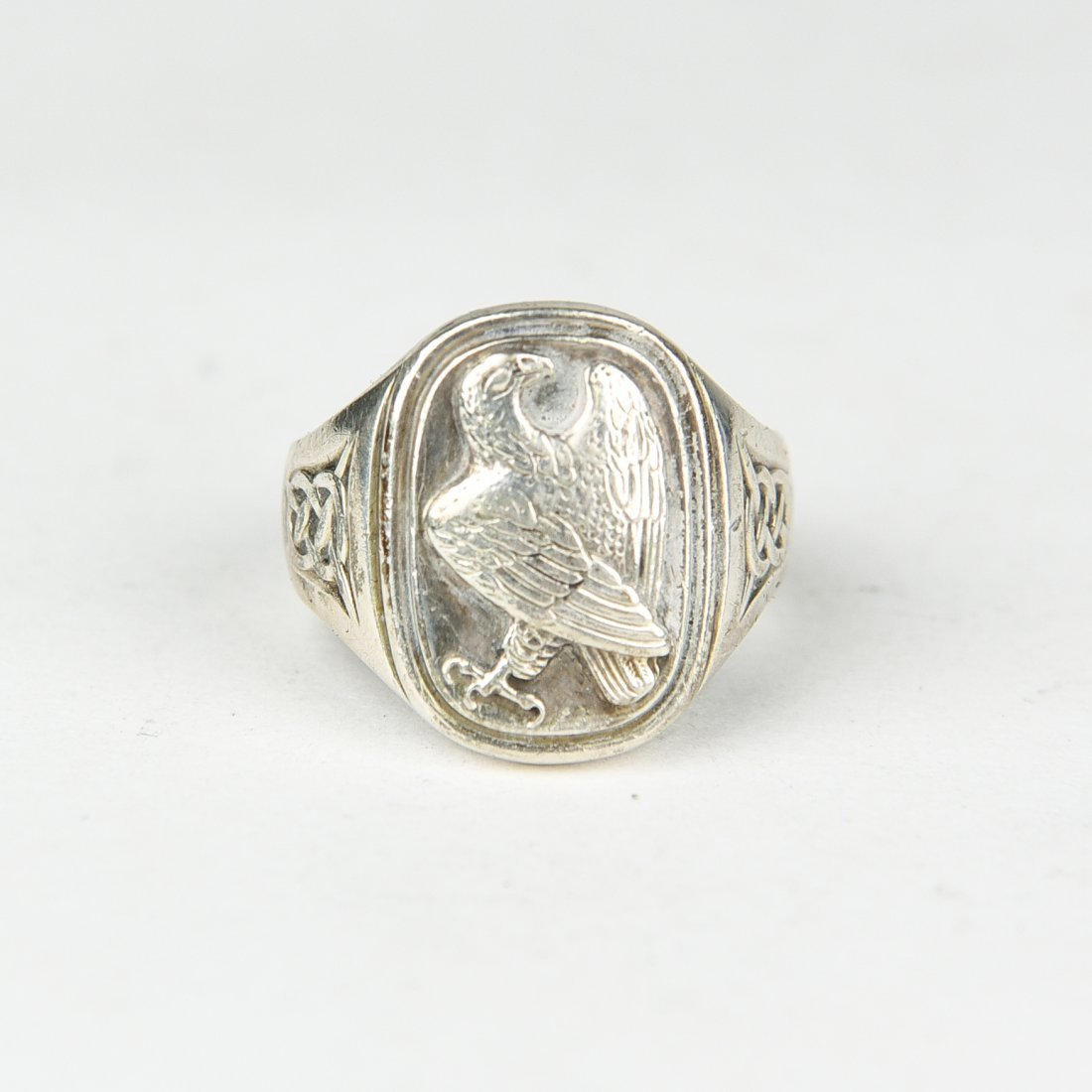 GEORG JENSEN SILVER EAGLE RING