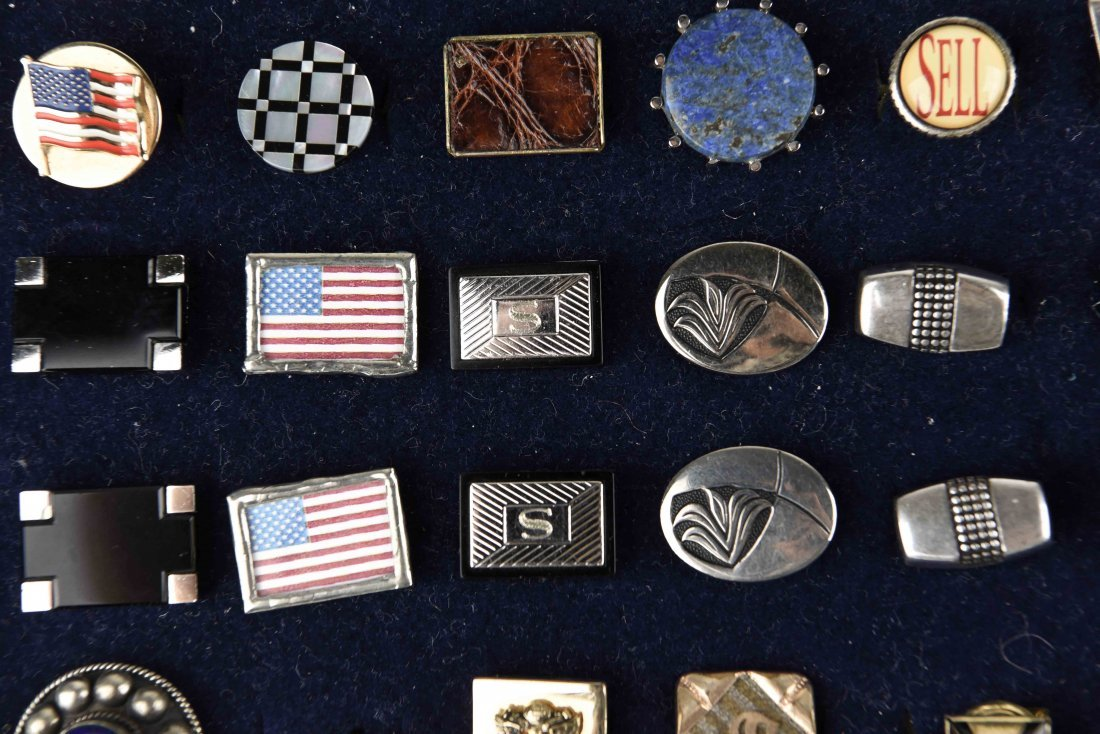 LARGE GROUPING OF VINTAGE CUFFLINKS - 3