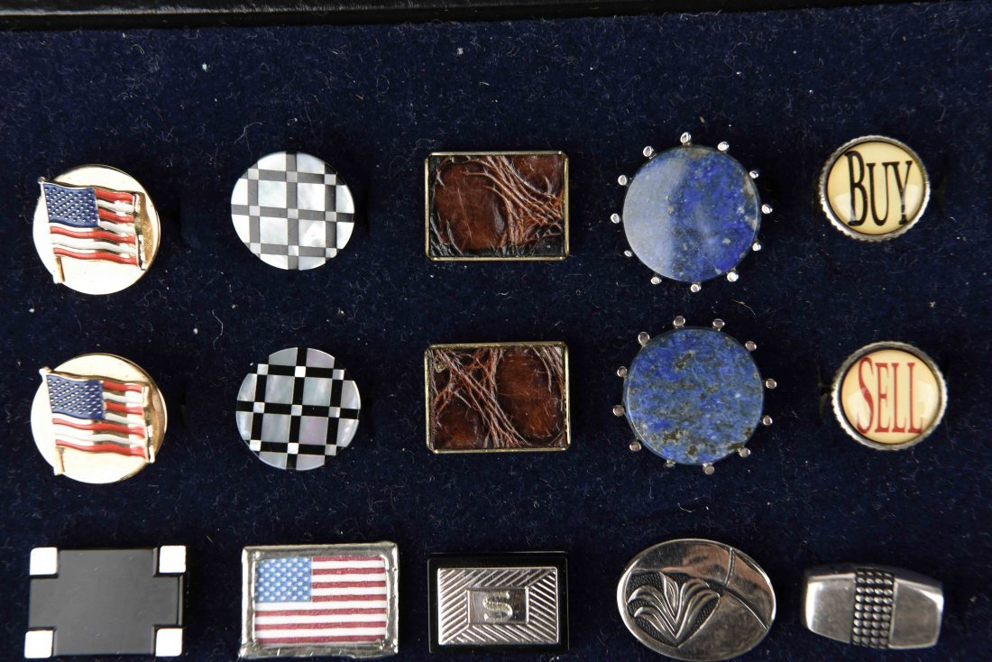 LARGE GROUPING OF VINTAGE CUFFLINKS - 4