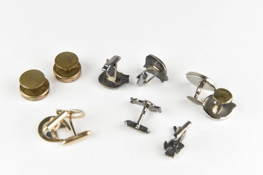 (5) HORSE AND EQUESTRIAN CUFFLINKS - 5