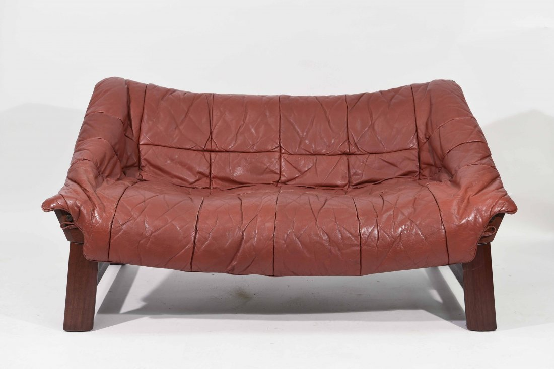 1970 PERCIVAL LAFER STYLE SOFA BY EKORNES NORWAY