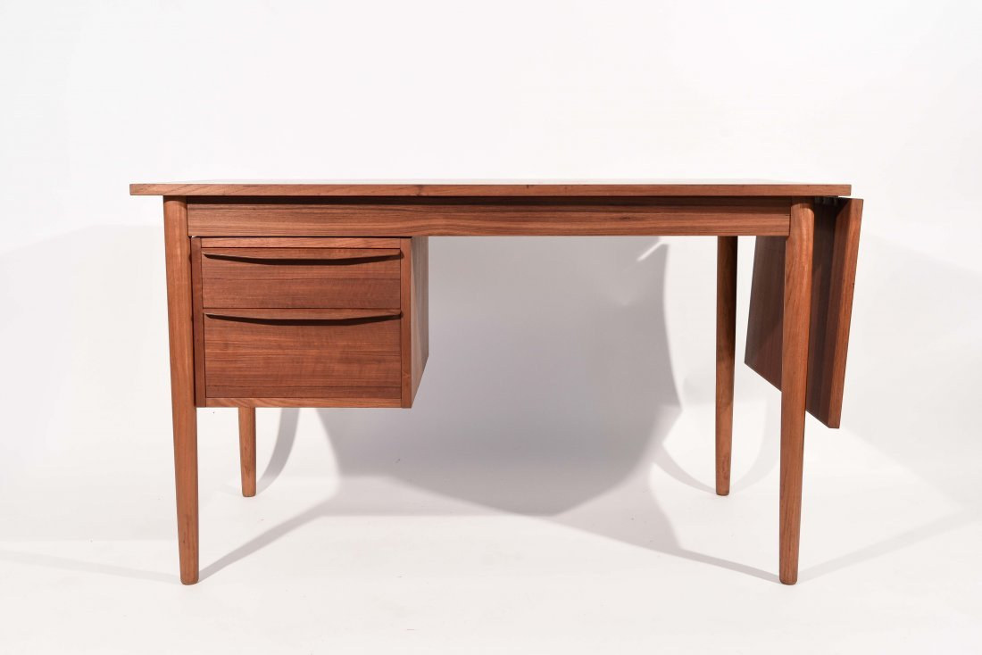 ARNE VODDER DANISH TEAK DROP LEAF DESK