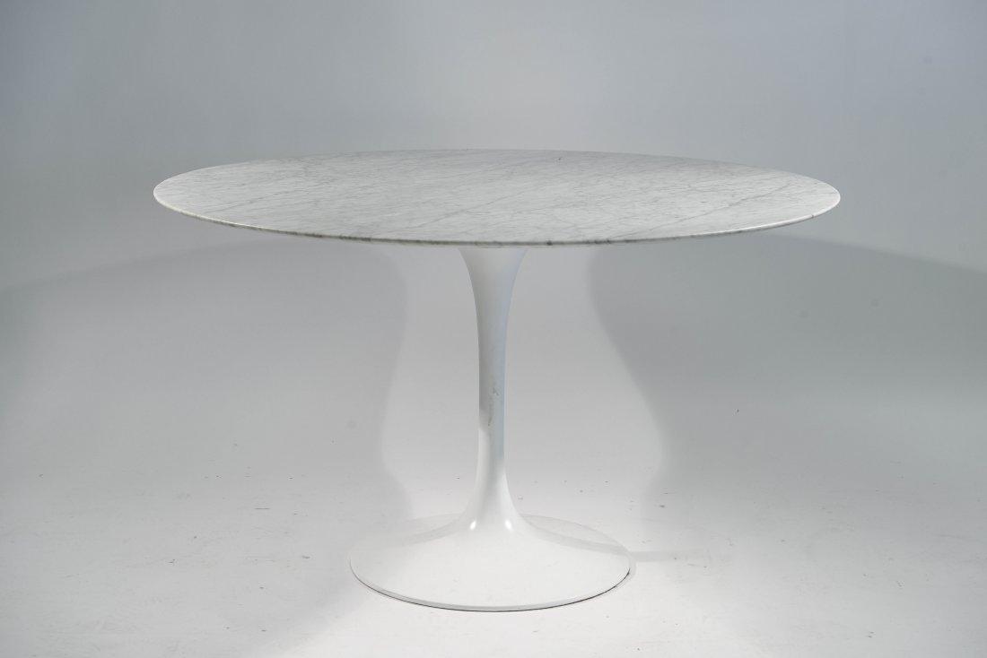 SAARINEN MARBLE TOP TULIP TABLE