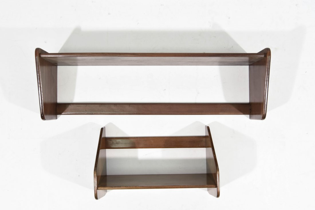 PAIR OF HANS WEGNER SHELVES