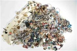 HUGE COLLECTION OF COSTUME JEWELRY