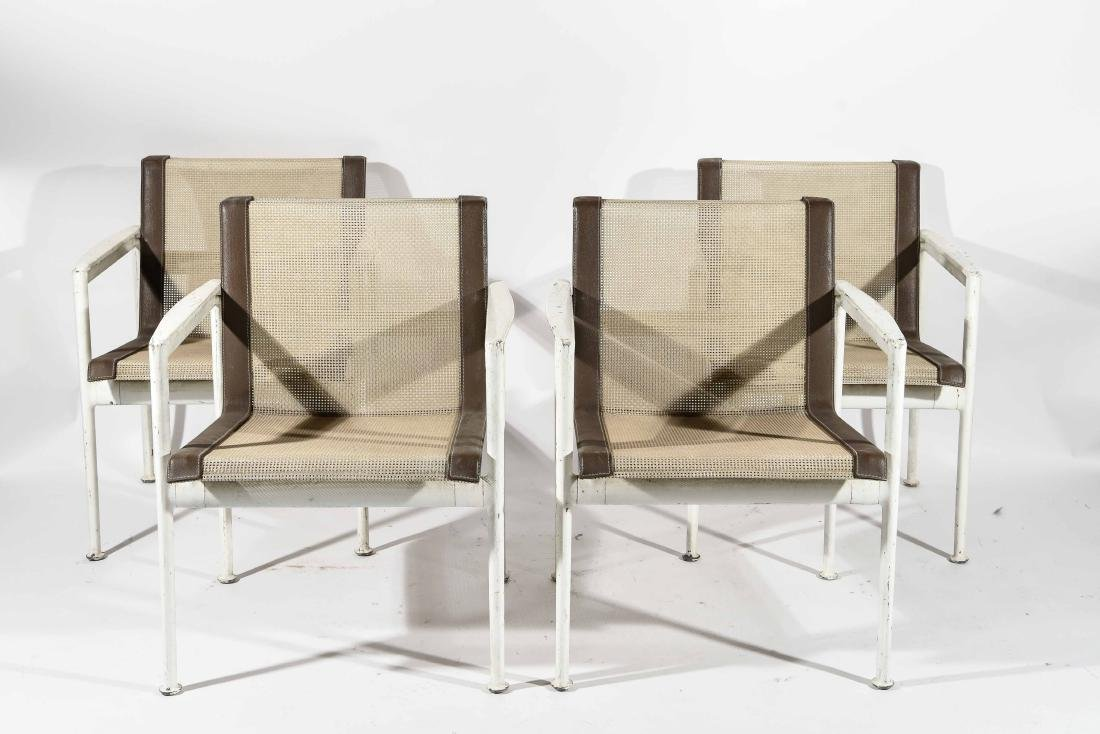 (4) RICHARD SCHULTZ FOR KNOLL CHAIRS