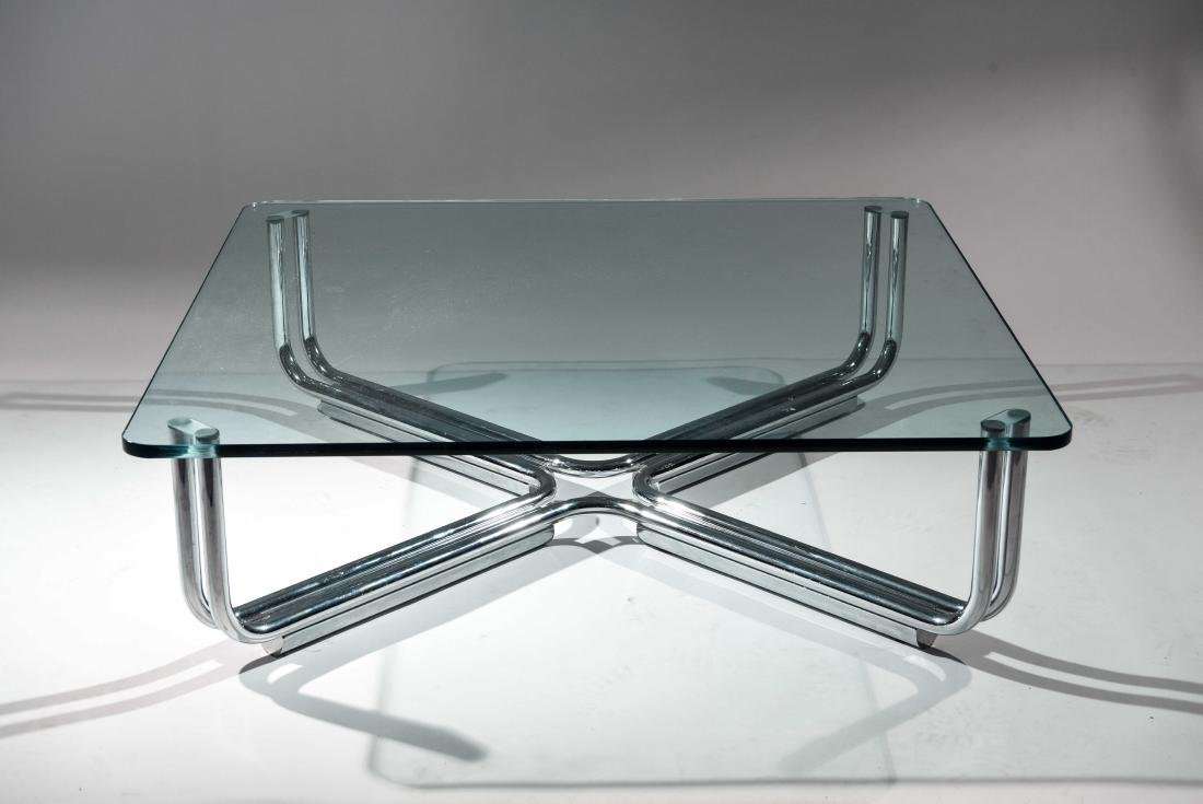 GIANFRANCO FRATTINI FOR CASSINA COFFEE TABLE