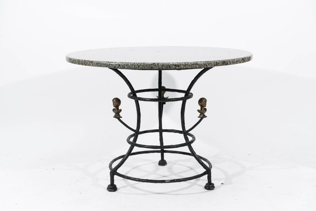 TABLE IN THE MANNER OF DIEGO GIACOMETTI