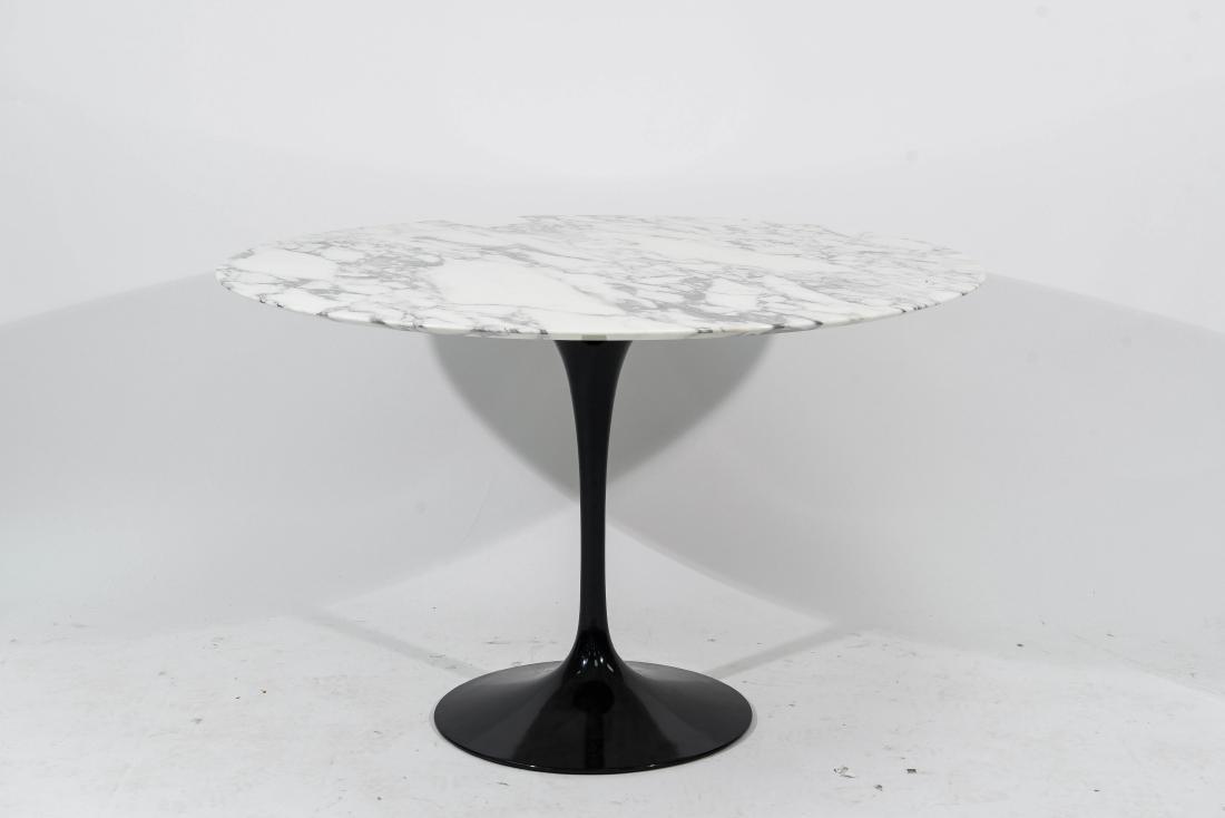 EERO SAARINEN MARBLE DINING TABLE