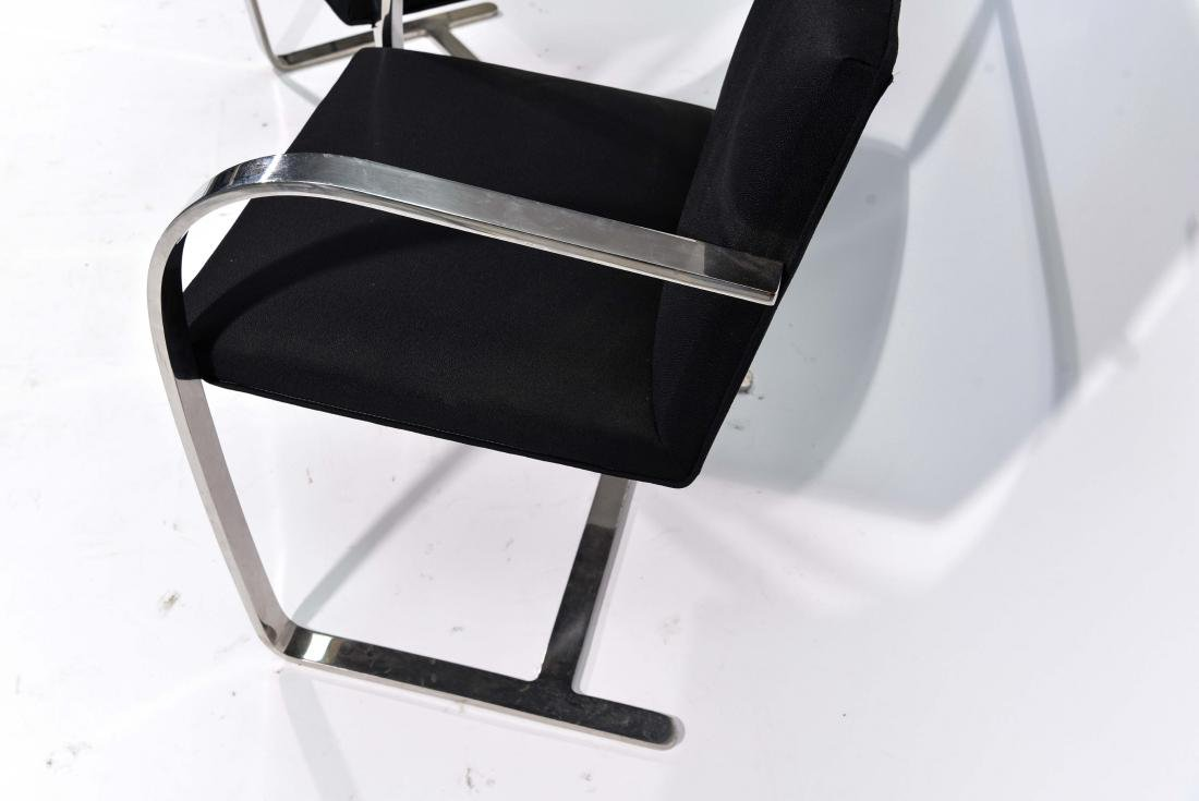 PAIR OF KNOLL BRNO CHAIRS - 5