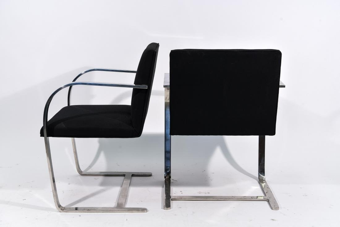 PAIR OF KNOLL BRNO CHAIRS - 6