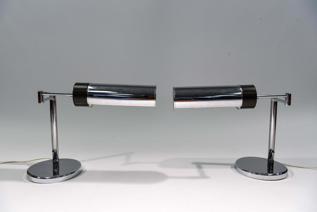 PAIR OF NESSEN TABLE LAMPS