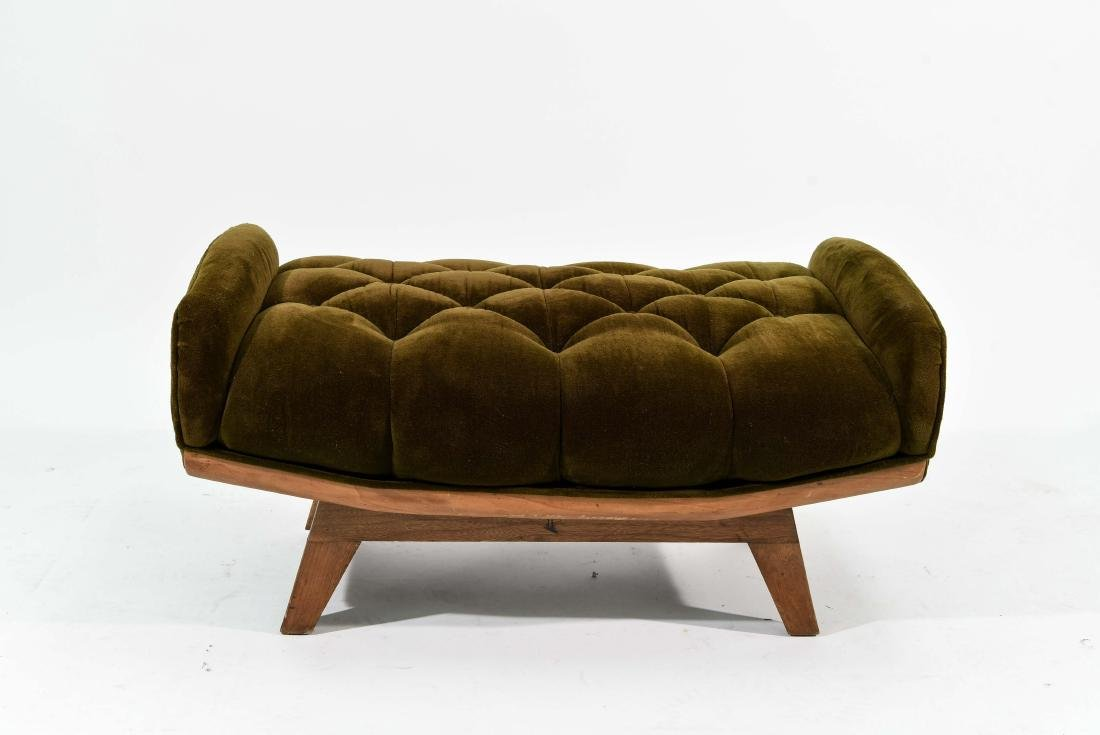PEARSALL STYLE TUFTED BENCH