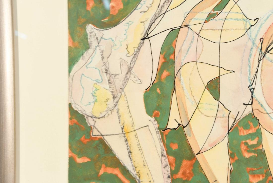 CHARLES KEELING LASSITER (1926-2005) MODERNIST - 4