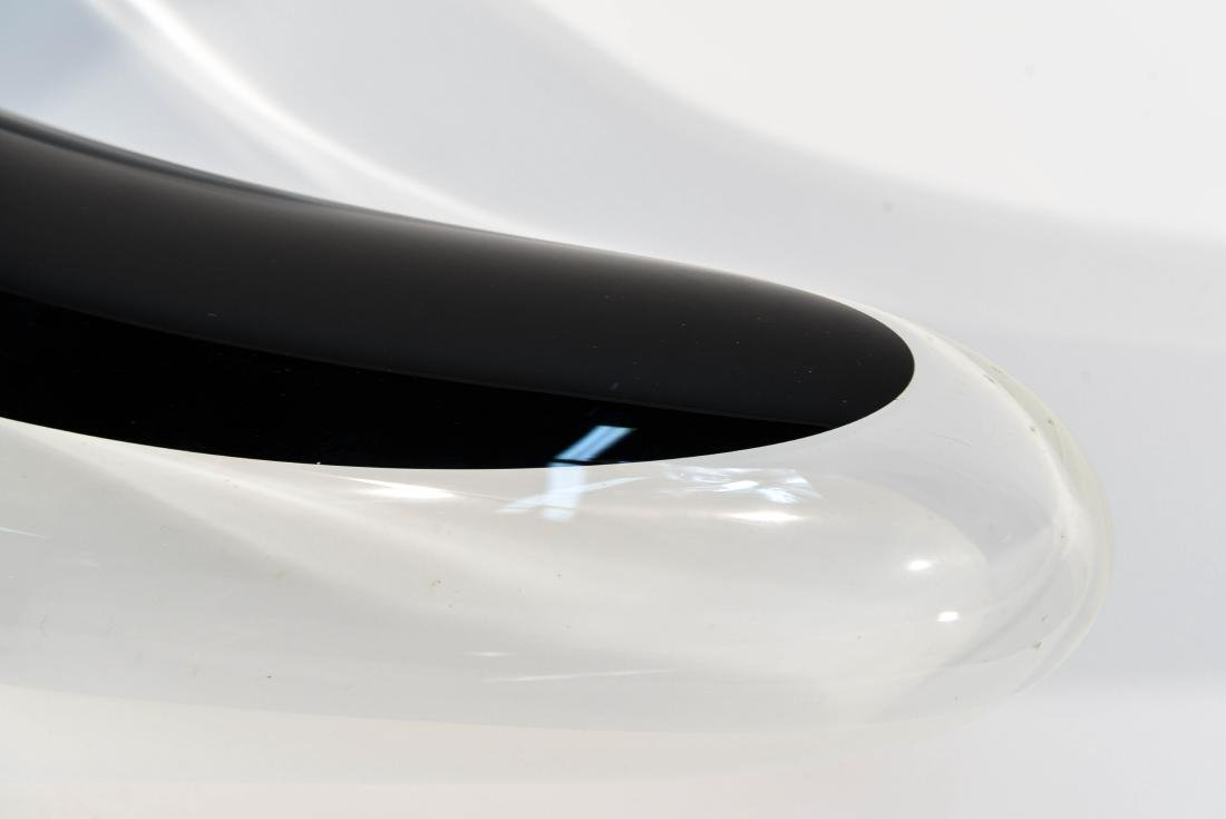 ITALIAN GLASS CENTERPIECE LAMP - 3