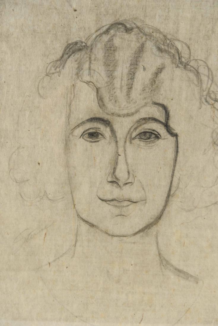 MAURICE STERNE (LATVIAN/ AMERICAN 1875-1957)# 1 - 2