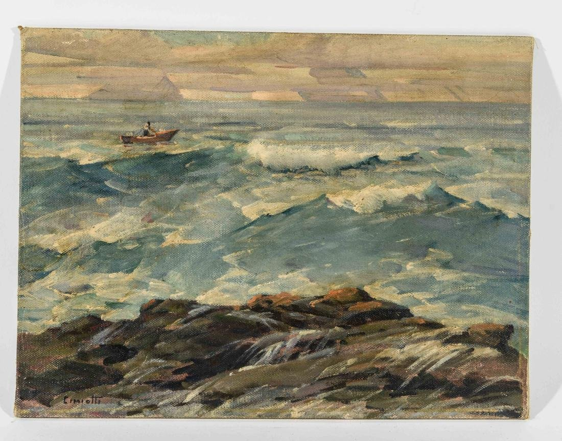 GUSTAV CIMOTTI (AMERICAN 1875-1969) O/B